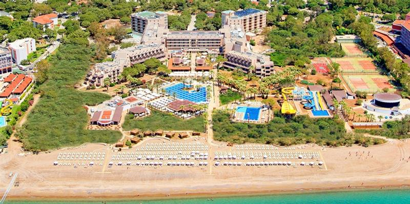 Crystal Tat Beach Golf Resort & Spa Serik Antalya