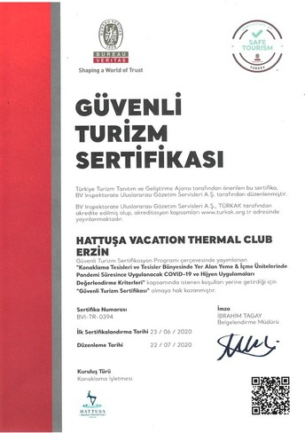 Hattuşa Vacation Thermal Club Erzin