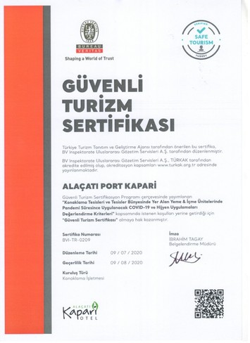 Alaçatı Kapari Otel Special Category